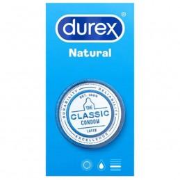 DUREX NATURAL CLASSIC 6 UNITÉS