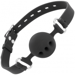 DARKNESS BALL SILICONE GAG...